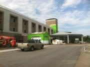 """This will be the main entrance to the hospital's """"medical mall."""""""