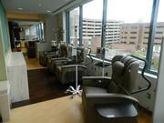 The center's third floor infusion therapy unit