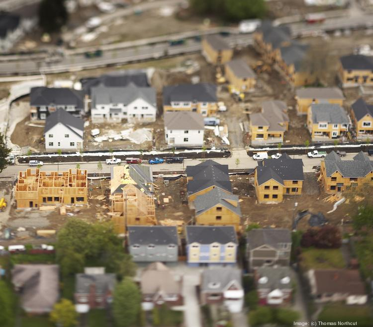 As Houston homebuilders rush to meet demand, that increased activity is reflected in their local gross revenue.