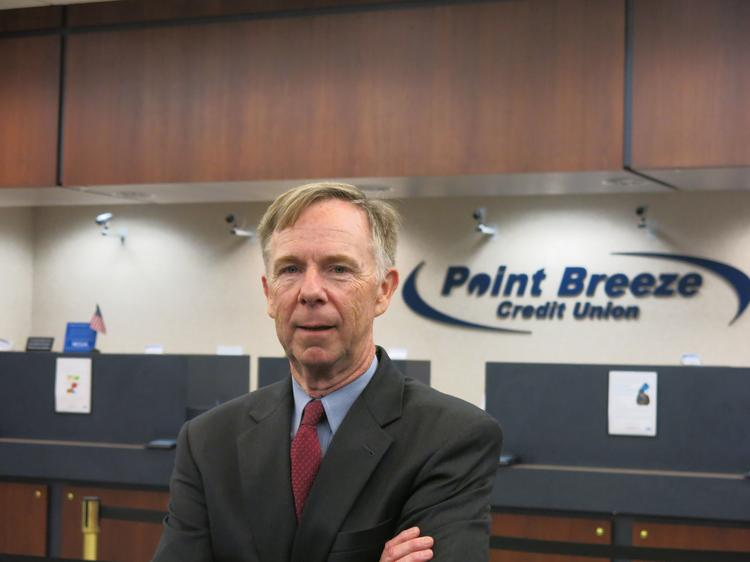 Bernard McLaughlin became CEO of Point Breeze Credit Union in February.