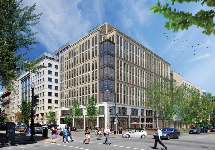 Miller & Chevalier Chartered has signed a lease with The JBG Cos. and ICG Properties to anchor a new office building to be built on the site of the Third Church of Christ, Scientist at 16th and Eye streets.