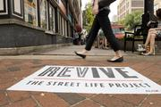 """""""REVIVE: The Street Life Project"""" is driving foot traffic in five different Birmingham neighborhoods this month."""