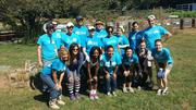 Airwatch Volunteers at Patchwork City Farms on Hands On Atlanta Day.
