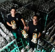 No. 1: Back to the Roots Alejandro Velez (left) and Nikhil Arora, co-founders The Oakland company has grown revenue 845.8 percent from 2010 to 2012, thanks to its grow-at-home mushroom kits. (Back to the Roots ranked as No. 7 on the list of the 100 Fastest-Growing Private Companies.)
