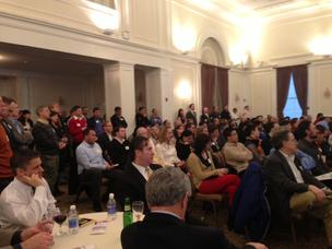 Just part of the standing room only crowd for the launch of Pittsburgh DataWorks.