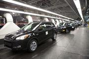 Ford can make as many as six different vehicle models at the same time at its Louisville Assembly Plant, although the Escape is the only model currently being produced there.