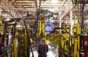 Louisville Assembly Plant is Ford's most advanced plant, with robotics and flexible assembly lines also making it among the most efficient in the world.