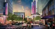 A developer is planning a $100 million redevelopment of Victory Park.