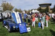 Marshall Crossan owns this Kirkham reproduction of a Cobra seen at the Niello Concours at Serrano in El Dorado Hills.