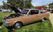 Michael Hess owns this 1965 Barracuda. It was one of the vehicles featured at the Niello Concours at Serrano in El Dorado Hills.