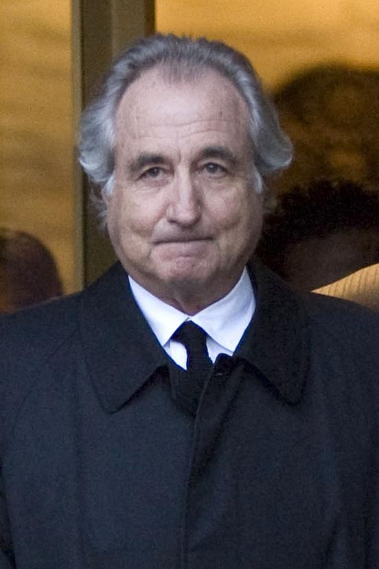 Bernard Madoff, president and founder of Bernard L. Mandoff Investment Securities LLC, walks out of Manhattan federal court in New York in January 2009. He is now serving a 150-year sentence.