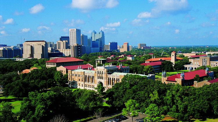 Rice University in Houston: No. 32 in nation, No. 1 in Texas