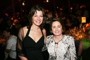 Singer and songwriter Amy Grant, left, and Elizabeth Hicks, fundraising consultant.