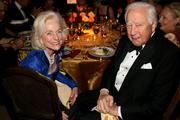Gay Gaines, Mount Vernon patron, and David McCullough, author and historian.