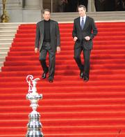 Larry Ellison and Gavin Newsom's efforts to land the America's Cup won top Real Estate Deals honors for 2010.