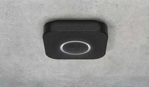 Nest Protect is a high tech smoke and carbon monoxide detector you can control with a wave of your hand rather than climbing on furniture to shut off.