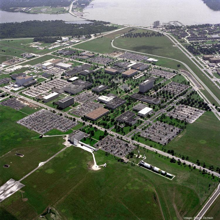 NASA's sprawling Johnson Space Center campus is currently empty except for mandatory personnel.
