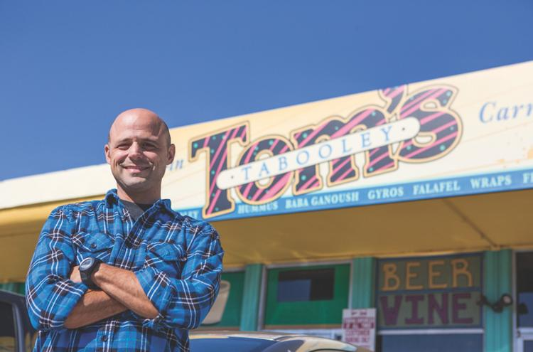 J.D. Torian, who owns Austin's Pizza, just purchased Tom's Tabooley at 2928 Guadalupe St.