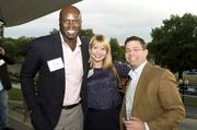 From left, Ebong Eka of Levyti Consulting, Amanda Saul of One Realty and Todd Sherbacow of McBride Real Estate.