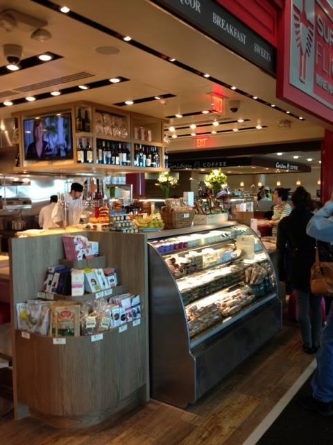 Surdky's Flights opened its second location, this one in Terminal 2 of the Minneapolis-St. Paul International Airport. A concourse bar serves beer and wine.