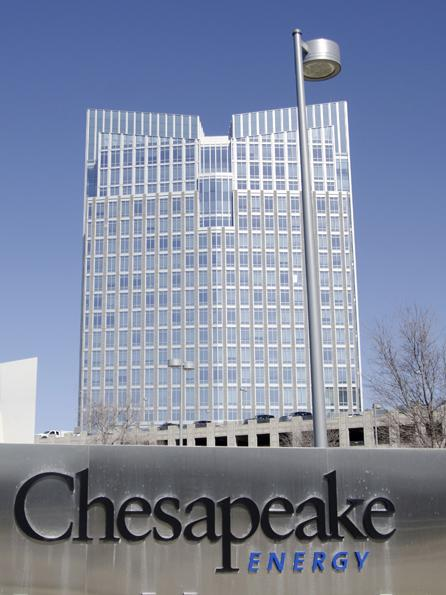 Chesapeake Energy Corp. has filed a possible spinoff of its oilfield services division.