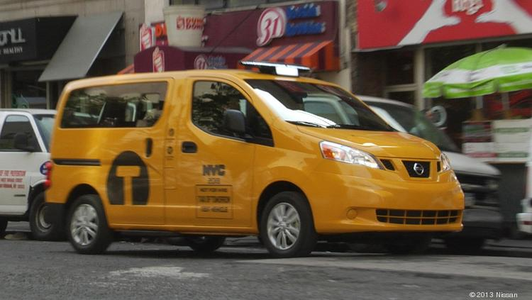 Nissan won a bid to redesign and supply the New York City fleet of cabs as part of the Taxi of Tomorrow program.