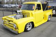 Ed Tozer owns this 1955 Ford pickup. It was one of many vehicles featured at the 63rd Sacramento Autorama at Cal Expo.