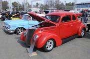 Tom and Kathy Pifari of Fiddletown own this 1937 Ford Coupe. It was one of many vehicles featured at the 63rd Sacramento Autorama at Cal Expo.