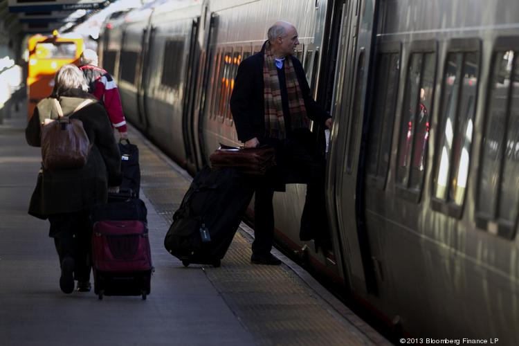 Amtrak is rolling, according to its fiscal 2013 report.