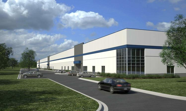 Opus Group started construction this week in Shakopee on a 200,000-square-foot speculative industrial building.