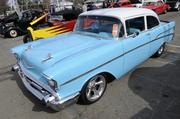 Bob Miller owns this 1957 Chevrolet 210 Sedan. It was one of many vehicles featured at the 63rd Sacramento Autorama at Cal Expo.