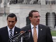 D.C. Mayor Vincent Gray, D, and U.S. Rep. Darrell Issa, R-Calif., are both calling for D.C.'s freedom from the federal budget fight. The District will run out of money in 7-10 days.
