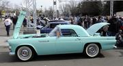 Barbara Valentine owns this 1955 Ford Thunderbird. It was one of many vehicles featured at the 63rd Sacramento Autorama at Cal Expo.