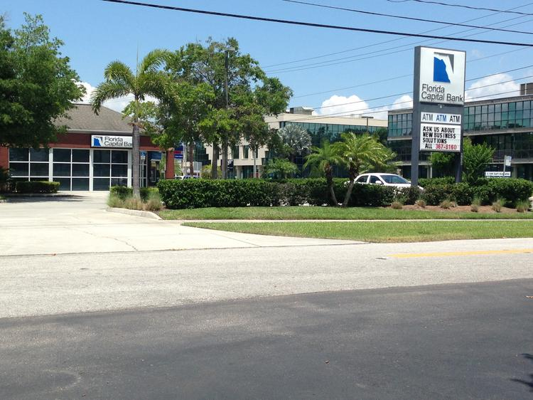 A former Florida Capital Bank office closed in that space on Aug. 1.