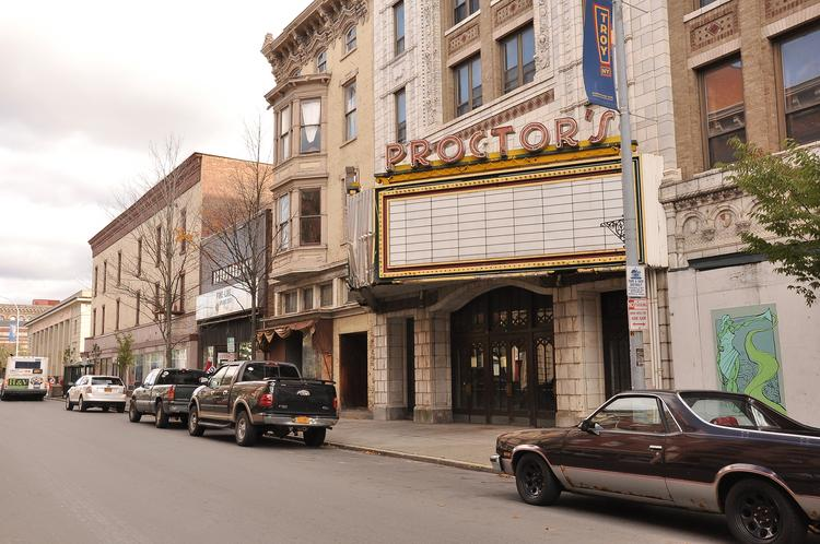 Columbia Development is investing $7.2 million to renovate Proctor's theater in downtown Troy, NY. The first tenants could move in next fall.