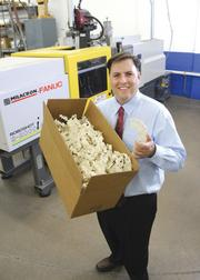 Anchor Plastics makes injection-molded products at its plant in Golden Valley. Above, Steve Rogers, president and CEO