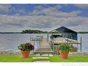 Bring your boat - the property has a dock and slip. View more luxurious Minnesota homes in the MSPBJ Dream Houses collection.