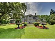 The European-style mansion is on 2.23 acres.