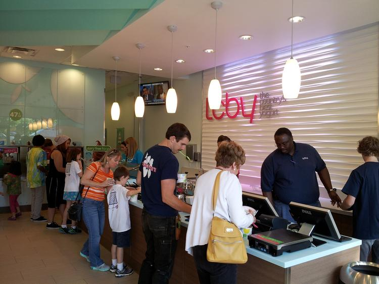 Triangle's first TCBY opened in Cary.