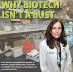 Biotech gets $720 million in taxpayer money, but the miracle economic cure isn't quite here yet