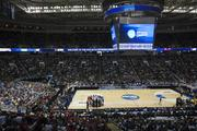 Later on Thursday, Cal played UNLV to a packed house at HP Pavilion.