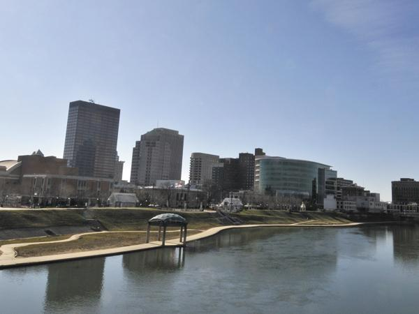 The Dayton region saw signs of economic improvement last year, yet dropped on a national ranking of economic success.