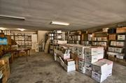 The garage is big enough to store a large inventory of files, if necessary.