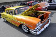 Charles Mattos owns this 1958 Chevrolet Del Rey. It was one of many vehicles featured at the 63rd Sacramento Autorama at Cal Expo.