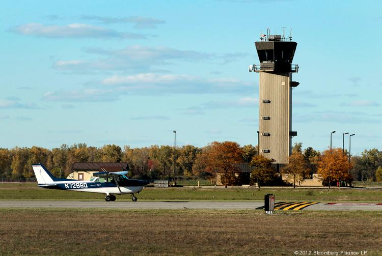 The FAA is cutting 149 air traffic control towers across the country at small or mid-size airports. This one is in Michigan.
