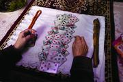 To guide their decision-making, the Kyrgyz often seek out shamans to read their fortune with cards.