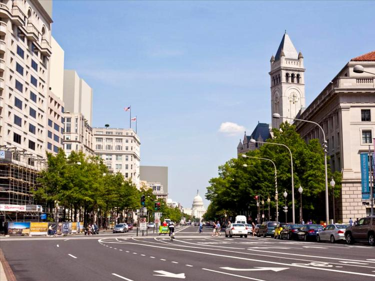 Pennsylvania Avenue would change significantly if the city has its way.