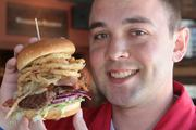 John Bremer is managing partner of Drake's in Florence. One of his favorites is the barbecue burger, which is served with sweet potato fries.