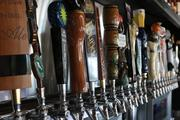 Many craft beers are available on tap, which can be purchased by the glass or in flights to try multiple brews.