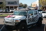 The Drake's Hummer goes to restaurant locations to promote events.
